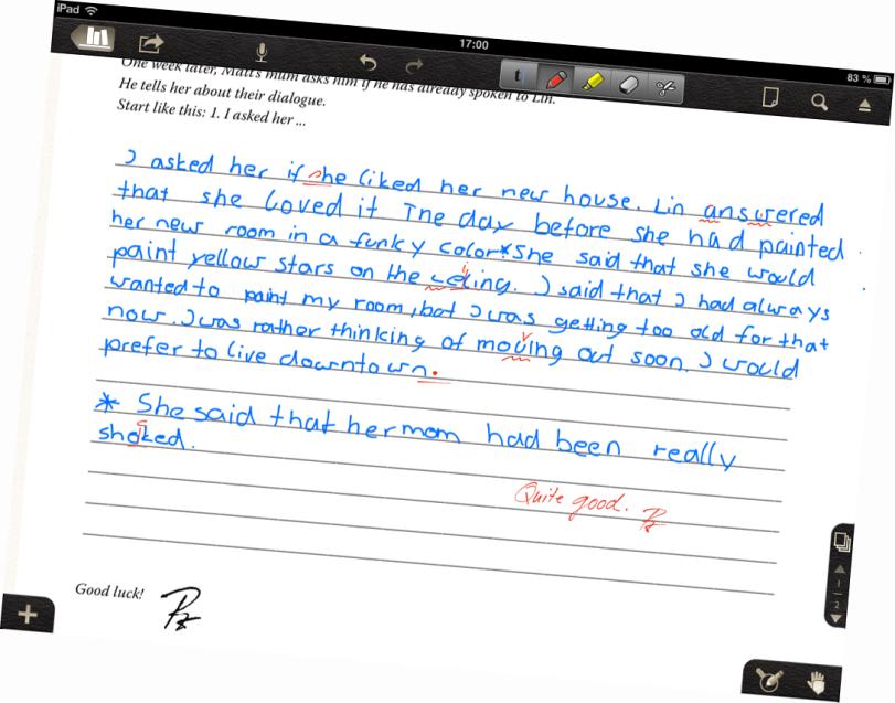 Ex auf dem iPad