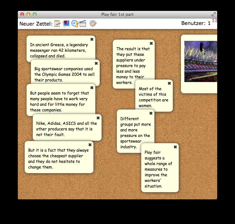 Eine ganze Stunde | ipad-klasse.org / tabletklasse.org